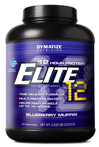 Elite 12 Hour Protein, 908 гр. Dymatize Nutrition